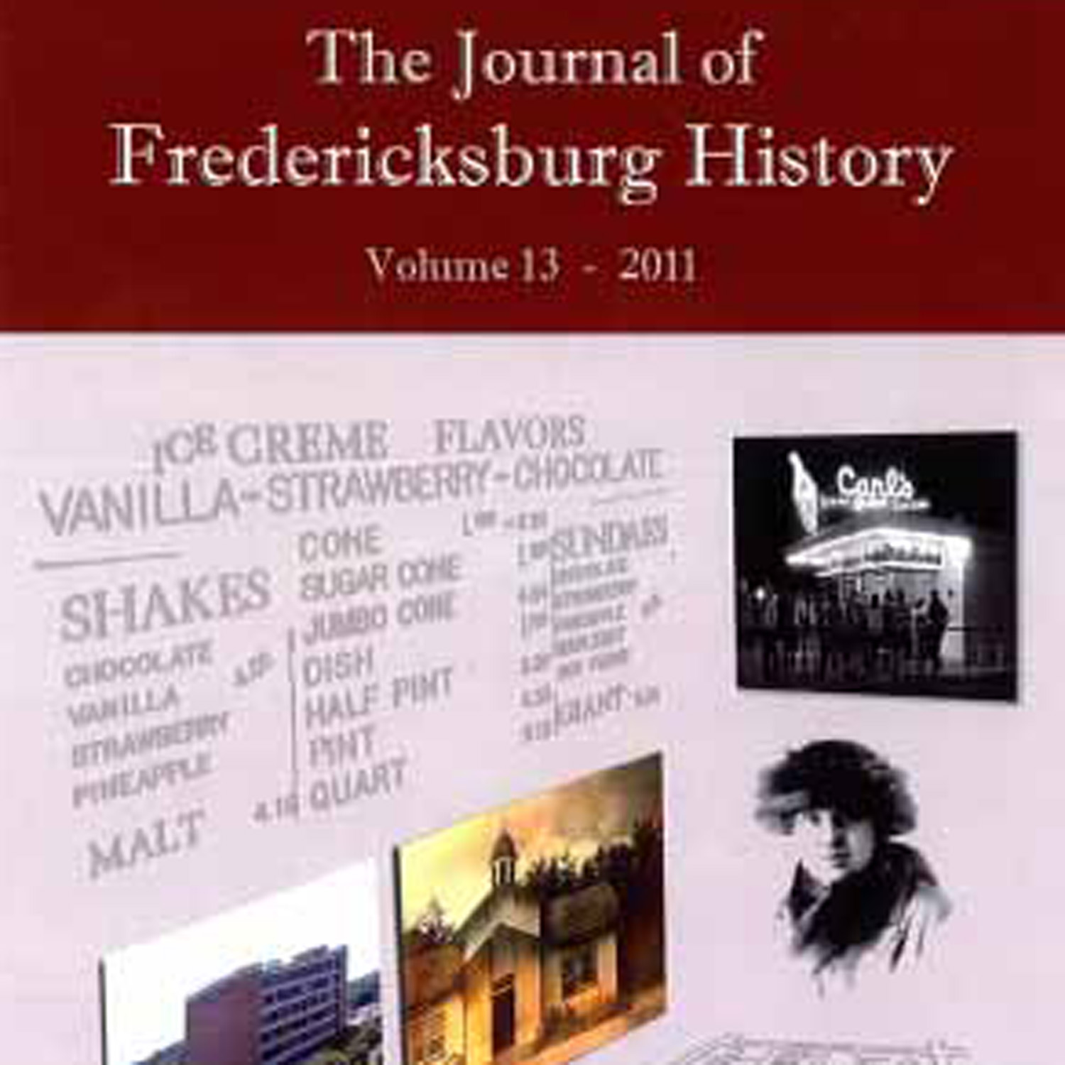 The Journal of Fredericksburg History